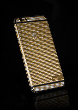 huge selection of 3d783 a2393 iPhone 6S Pure Swarovski - 24k Gold, Rose Gold and Platinum Range