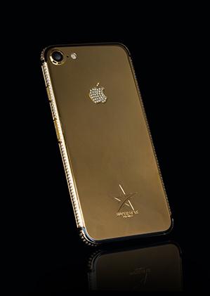 b7c7e13943259 iPhone 7 Swarovski Style in 24K Gold, Rose Gold and Platinum Range